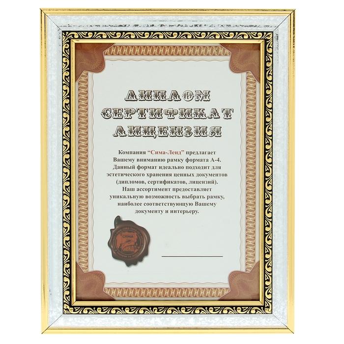 "Фоторамка ""Классик - Грация"" формата А4"