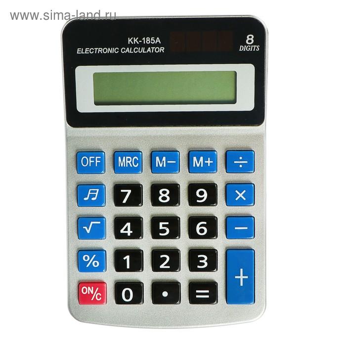 """Калькулятор настольный 8-разрядный """"Kanke"""" с мелодией"""