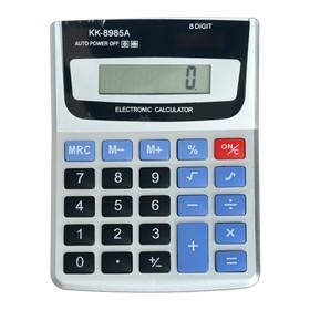 Калькулятор настольный 08-разрядный KK-8985А с мелодией Ош