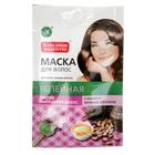 Натуральная маска для волос Репейная с какао и яичным желтком против выпадения 30 мл