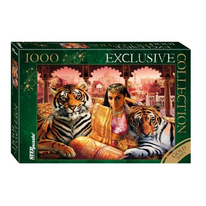 """Пазлы """"Принцесса Индии. Золотая коллекция"""", 1000 элементов"""