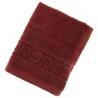 Полотенце махровое однотонное Антей цв шоколад 50*90см 100% хлопок 400 гр/м