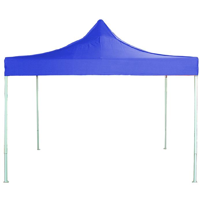 Шатер четырехугольный, без стенок, 200х200 см, цвет: синий