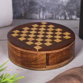 Шахматы 'Мини-круг' Ош