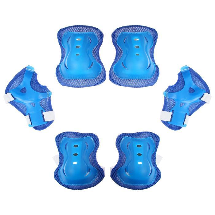 Защита роликовая OT-2020 р M, цвет синий