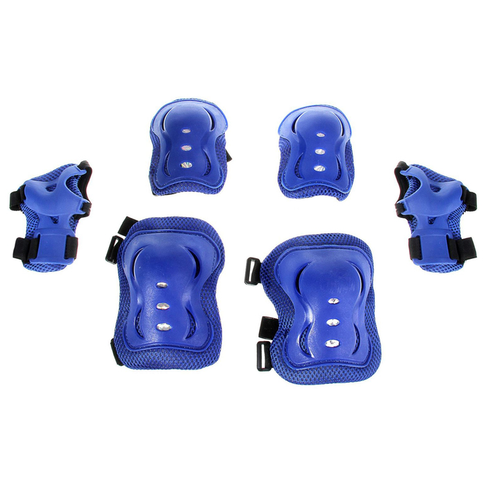 Защита роликовая OT-2020H р M, цвет синий