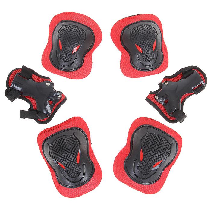 Защита роликовая OT-2030 р M, цвет красный