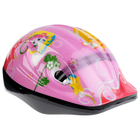 Шлем защитный детский OT-501, размер S (52-54 см), цвет: розовый