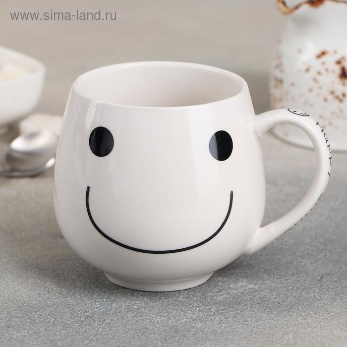 """Кружка 300 мл """"Улыбака"""", МИКС"""