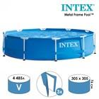 Бассейн каркасный Metal Frame Set, круглый, 305х76 см 28200 INTEX