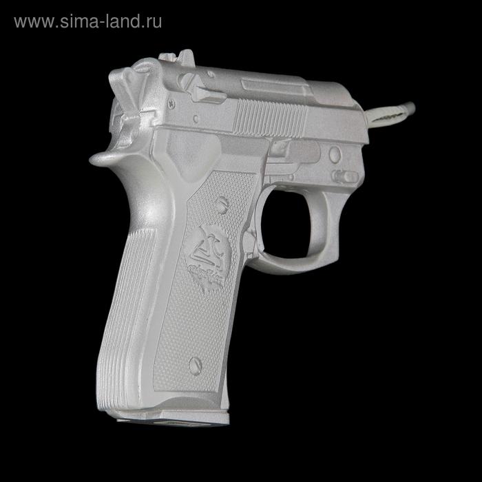 "Вешалка ""Пистолет"", цвет хром"
