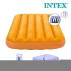 Матрас надувной, детский, флок 88х157х18 см, от 3 до 10 лет, микс 66801NP INTEX