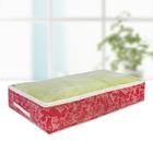 Кофр для хранения вещей, 80х45х15 см, цвет бордовый