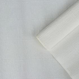 Бумага гофрированная белая, 50 см х 2,5 м