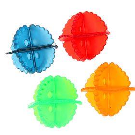 Набор шаров для стирки 4 шт, d=5 см, цвет МИКС