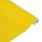 Пленка самоклеящаяся цветная 0.5*3 м Sadipal 100 мкм, Matt желтая 12213