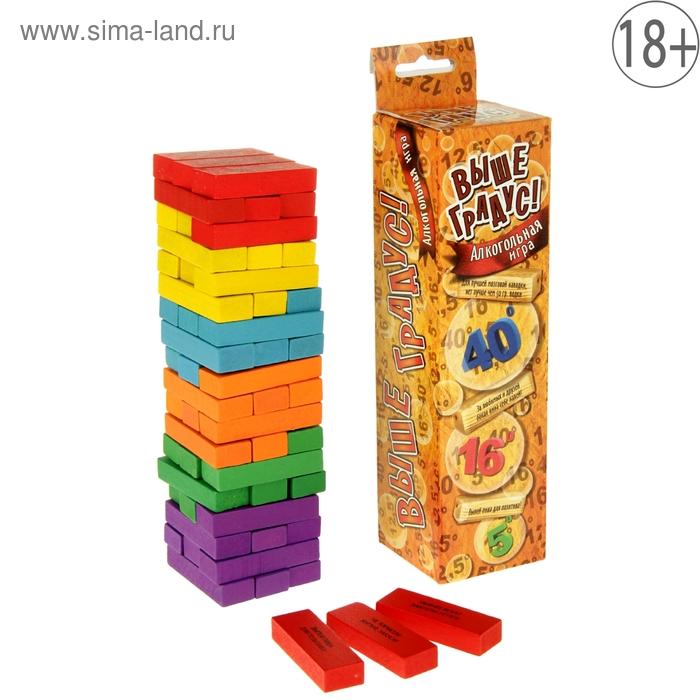 """Падающая башня """"Пьяная башня"""" в коробке"""