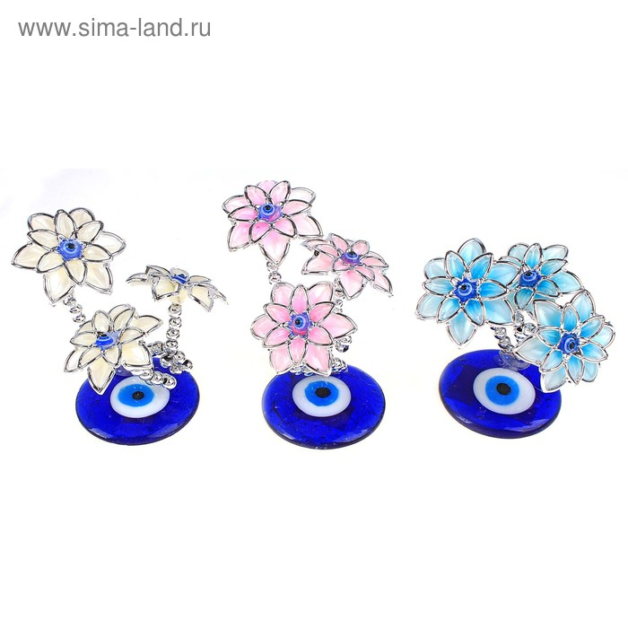 """Денежное дерево """"Нежные цветы"""", цвета МИКС"""