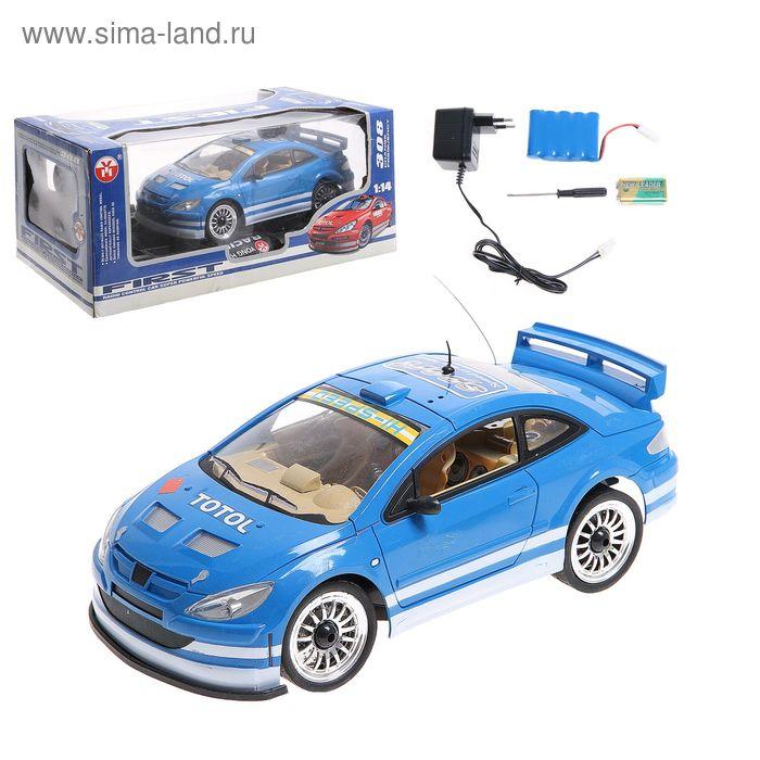 Машина радиоуправляемая с аккумулятором, масштаб 1:14