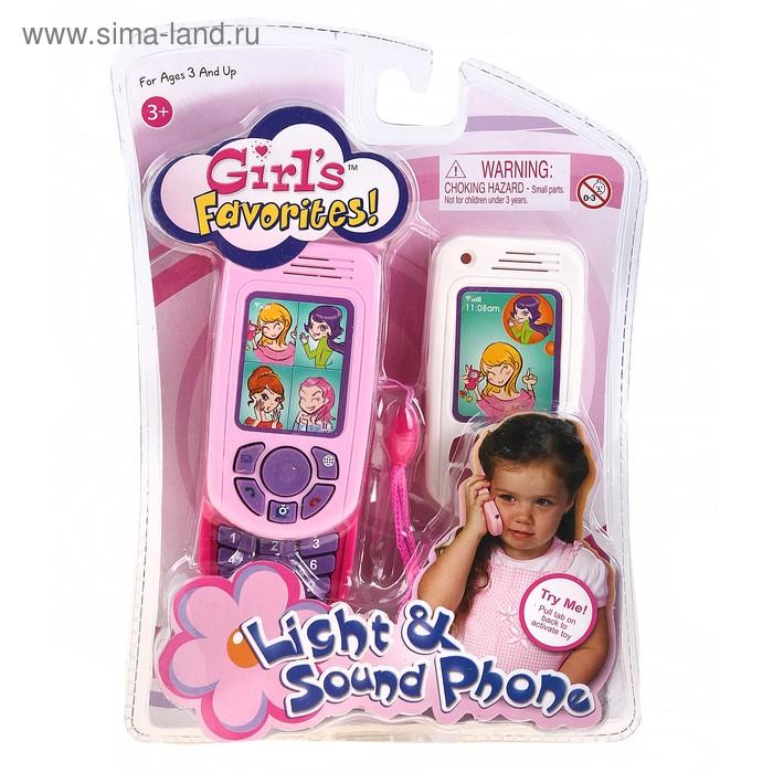 Телефон сотовый, со сменной панелькой, звуковые эффекты, работает от батареек