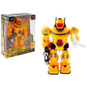 """Робот """"Бласт"""", работает от батареек, световые и звуковые эффекты, цвета МИКС"""