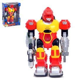"""Робот """"Бласт"""", работает от батареек, световые эффекты, русский звуковой чип"""