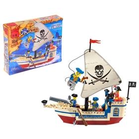"""Конструктор Пираты """"Пиратский корабль"""", 188 деталей"""