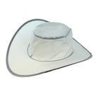 Шляпа складная в чехле, цвет серый, обхват головы 58 см, ширина полей 9 см