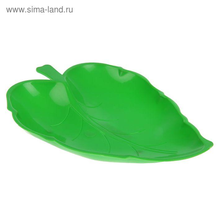 "Блюдо ""Лист"", цвета МИКС"