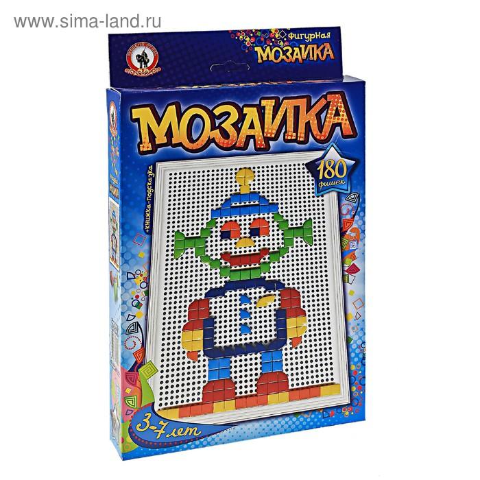 Мозаика настольная Classic,180 треугольных и квадратных элементов, большая плата