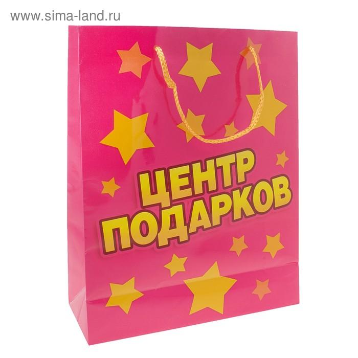 """Пакет подарочный """"Центр Подарков"""""""