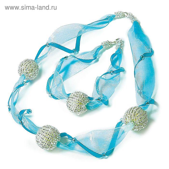 """Ожерелье и браслет """"Северное сияние"""""""