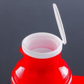Термос питьевой с ручкой Day Days, 1 л, 2 кружки, микс
