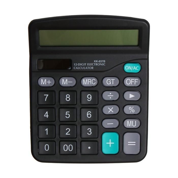 Калькулятор настольный 12-разрядный KK-837
