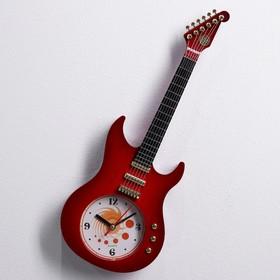 """Часы настенные детские """"Гитара"""" мини, микс"""
