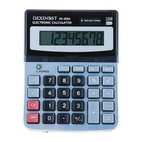 Калькулятор настольный 08-разрядный KK-800A двойное питание Ош