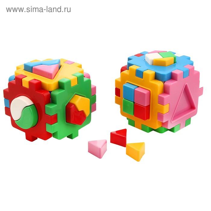 """Куб """"Умный малыш"""" Комби, цвета МИКС"""