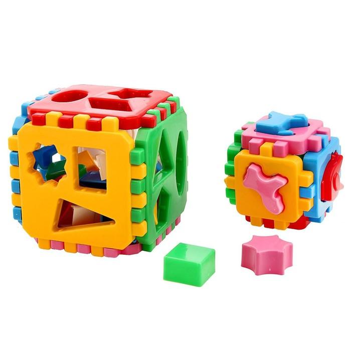 """Куб """"Умный малыш"""" 1 + 1"""
