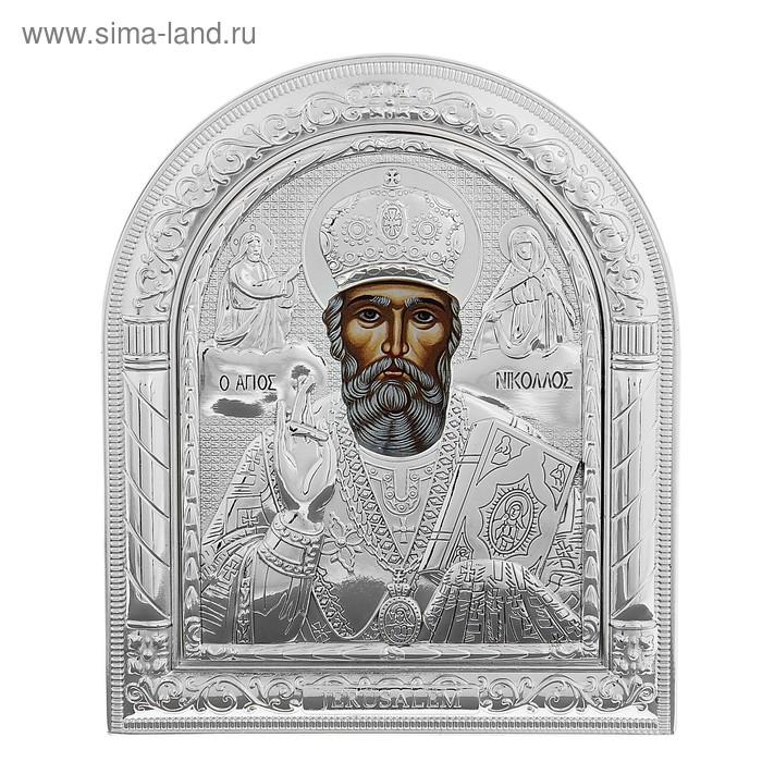 """Икона """"Николай Чудотворец"""" на подставке"""