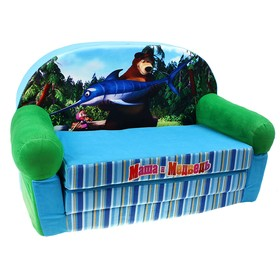 Мягкая игрушка 'Диван раскладной Маша и медведь' Ош