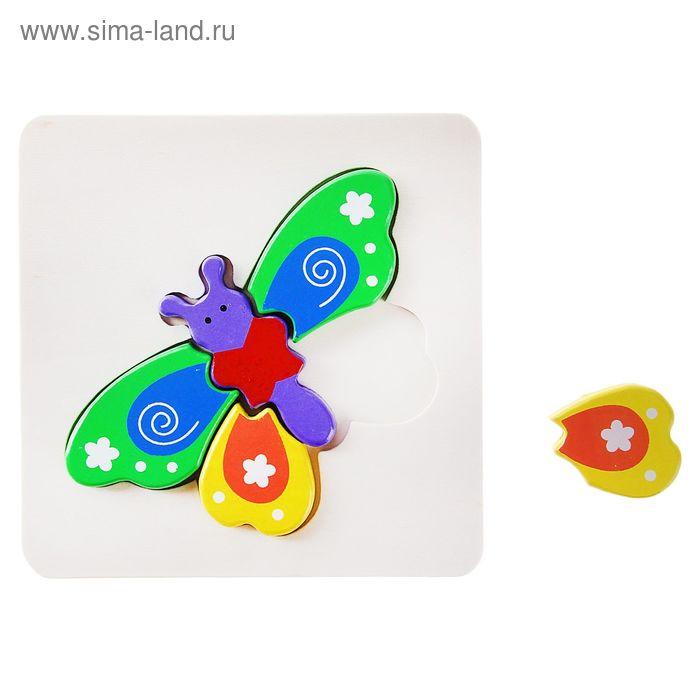 """Рамка - вкладыш малютка """"Бабочка"""", 5 элементов"""