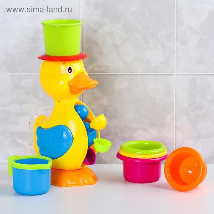 """Игрушка для ванны """"Утка-мельница"""""""