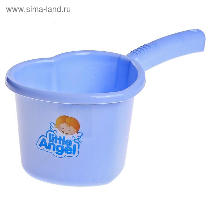 Ковш детский 1,5 л Little Angel, цвет голубой