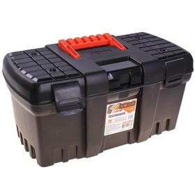 Ящик для инструментов Techniker 15, цвет черный, без внутреннего ящика