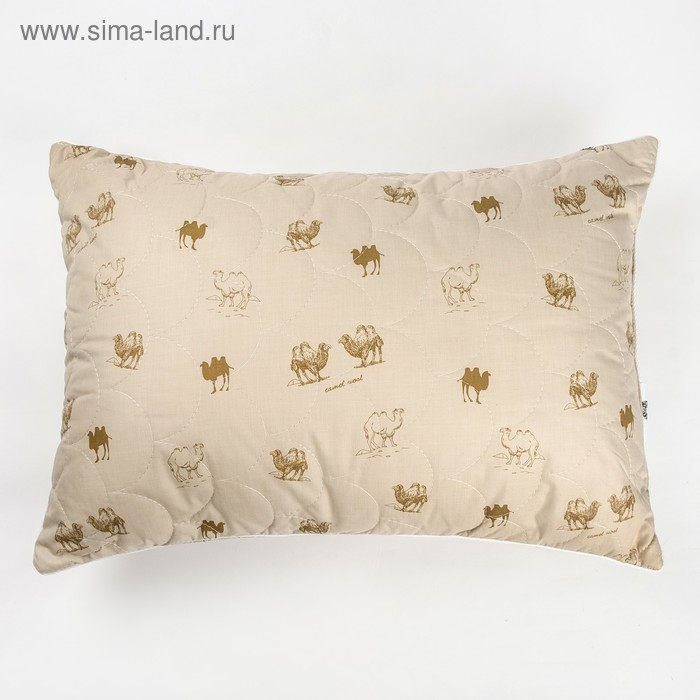"Подушка Адамас ""Верблюжья шерсть"", размер 70х70 см, чехол тик"