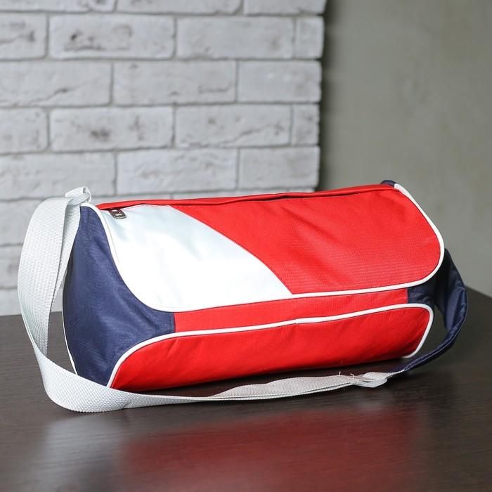 сумка спортивная S 46652 34*d18 см 1 отд, дл ремень