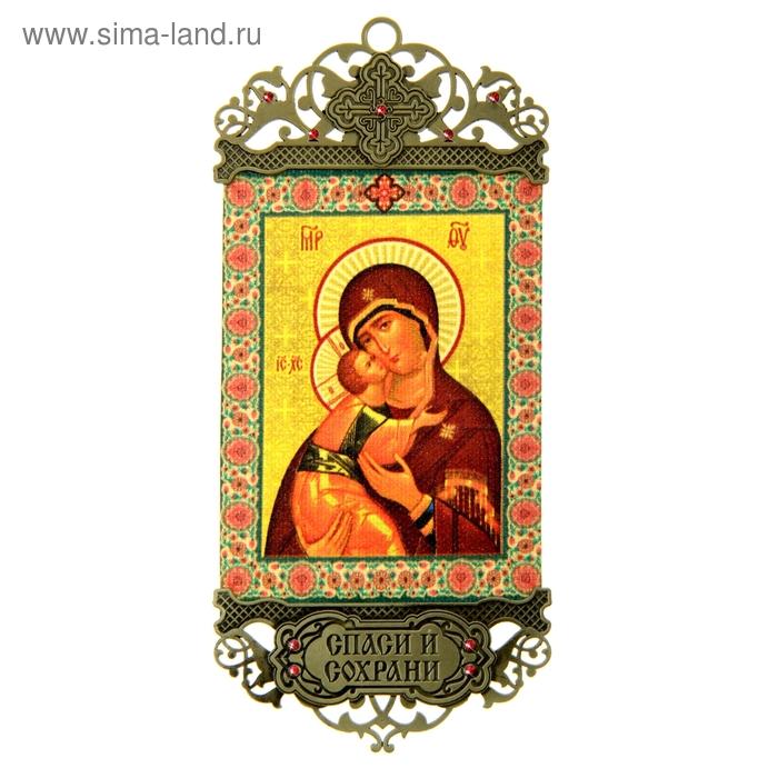 """Икона-хоругвь """"Владимирская икона Божией Матери"""""""