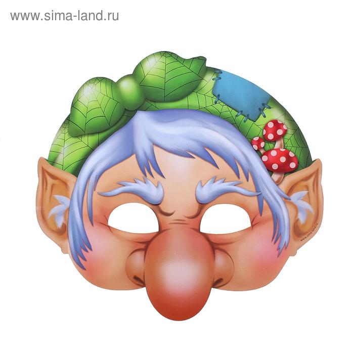 """Маска карнавальная """"Баба Яга"""""""
