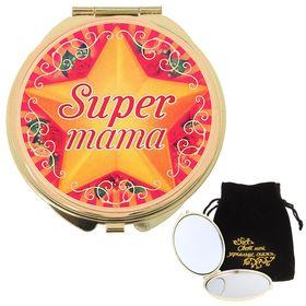 """Зеркало """"Супер мама"""""""