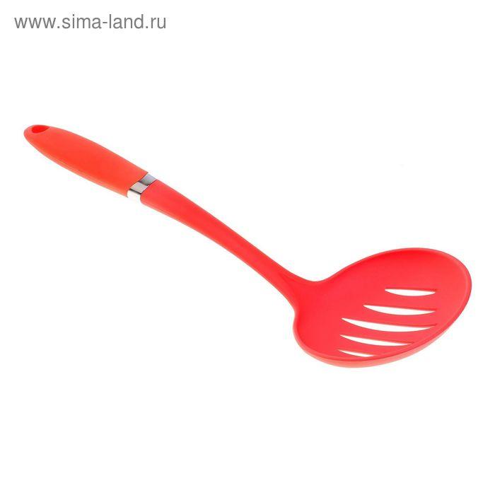 """Шумовка 34 см """"Апельсин"""", цвета МИКС"""